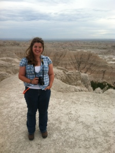 September 2014 in Badlands National Park.