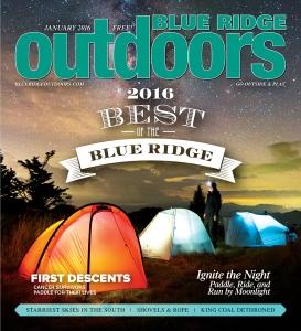 Blue Ridge Outdoors, January 2016
