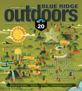 Blue Ridge Outdoors, November 2015
