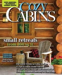 Country's Best Cabins, Cozy Cabins 2011