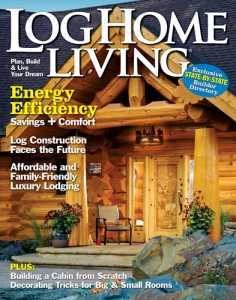 Log Home Living, January 2011