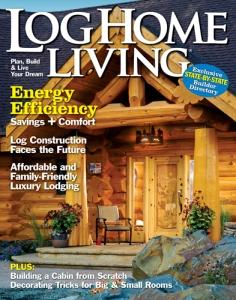 Log Home Living, January 2011