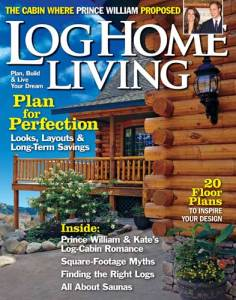 Log Home Living, March 2011