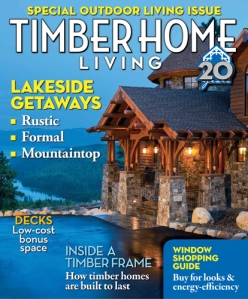 Timber Home Living, August 2011