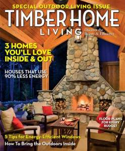 Timber Home Living, August 2010