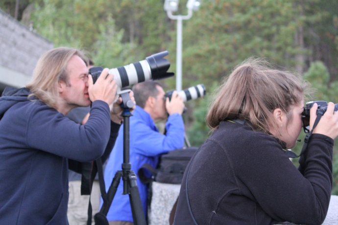Dirk and Danielle, shooting Mount Rushmore at sunrise. Credit: Connie Reed (www.midwestwanderer.com)