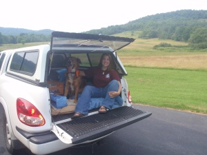 In the summer of 2009, Paxton and I hit the road for a month and trekked all over the country.